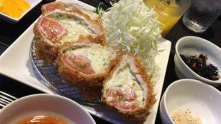 【豊川】とんかつKOROMO|チーズたっぷりジェノバ風トマトカルツォーネ最高!