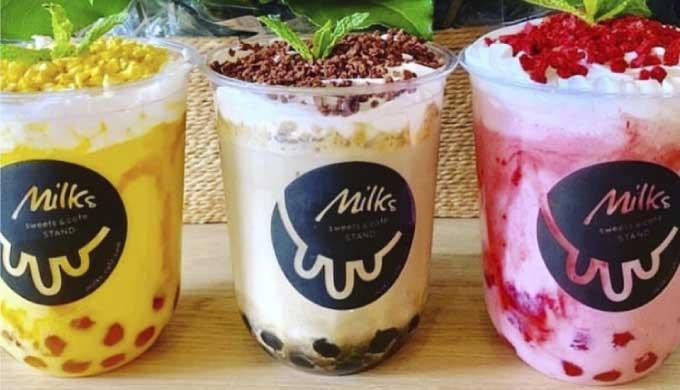 Milks cafe(ミルクスカフェ)が豊橋に上陸!素材にこだわるタピオカ店